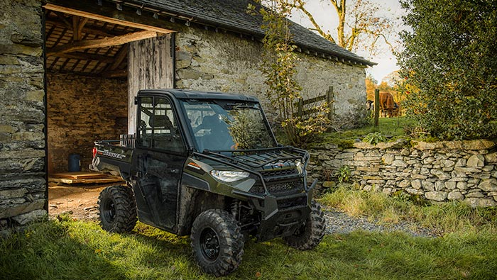 RANGER Diesel - RELIABILITY & DURABILITY : BUILT FOR THE HEAVY-DUTY LONG HAUL